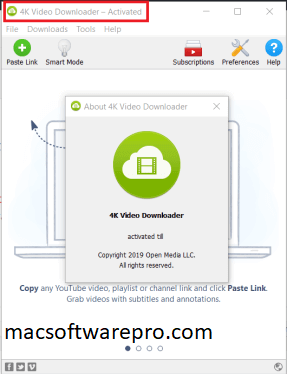 4K Video Downloader 4.12.0.3570 Crack Mac 2020