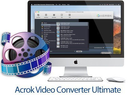 Acrok Video Converter Ultimate 6.8.104.1486 Crack for Mac 2020