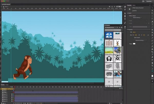 Adobe Animate CC 2019 (19.1) Mac Crack Full Download Free
