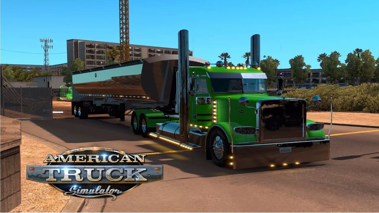 American Truck Simulator 1.16.2 Mac Crack + Torrent