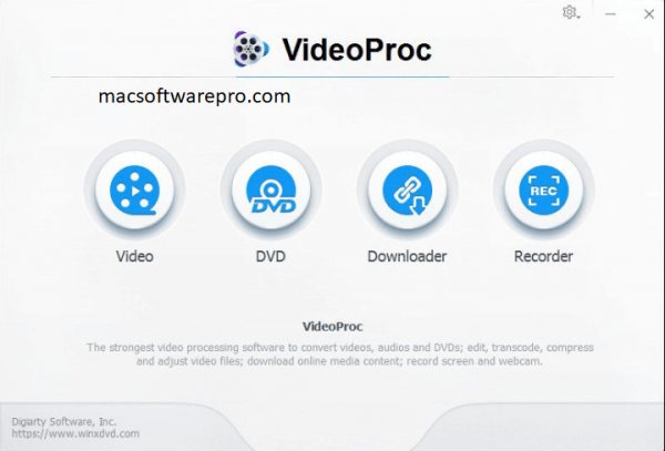 VideoProc 4.1 Crack + Serial Key For Mac Download 2021