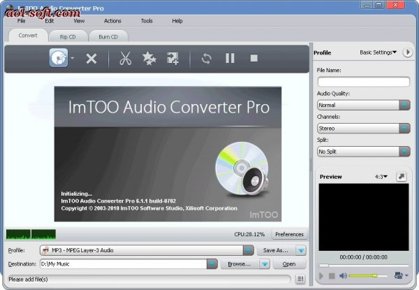 Xilisoft Audio Converter Pro 6.5.0 Crack & Serial Key (Mac)