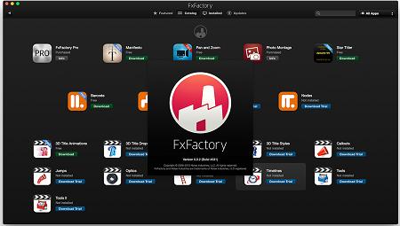FxFactory Pro 7.1.8 Crack Mac & Full Serial Number 2020