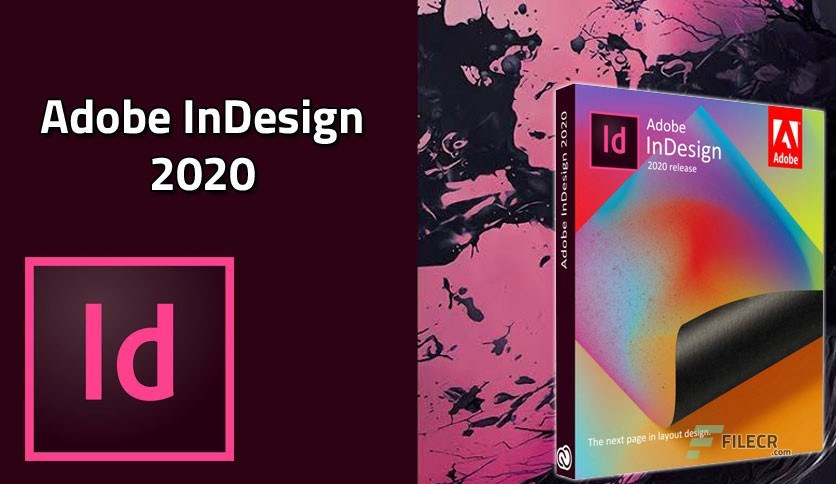 Adobe InDesign CC 2020 With Crack (Mac) Free Download Latest