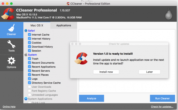 CCleaner Professional 5.68.7820 Crack + Key 2020 (Mac) Latest Version