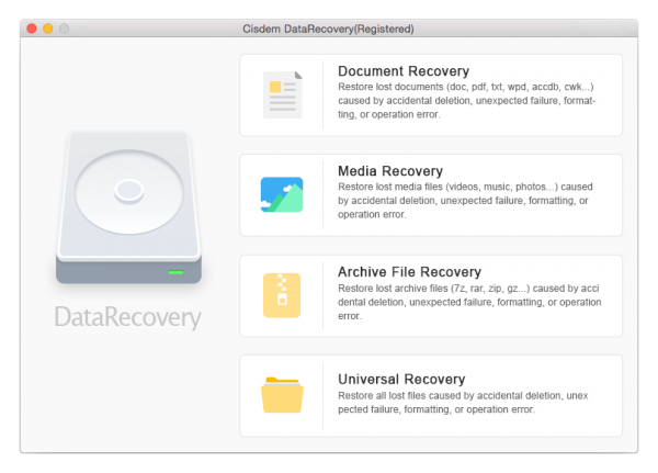 Cisdem Data Recovery 7 Crack 2021 for Mac Free Download