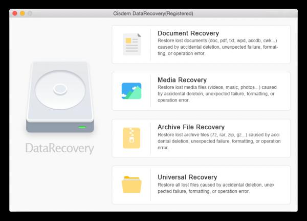 Cisdem Data Recovery 6.3.0 Crack for Mac Free