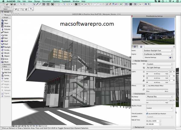 GraphiSoft ArchiCAD 23 Crack with Full license key 2020 Mac Free