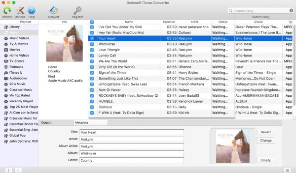 Ondesoft iTunes Converter 6.7.5 Crack + Activation Code (Mac) Free