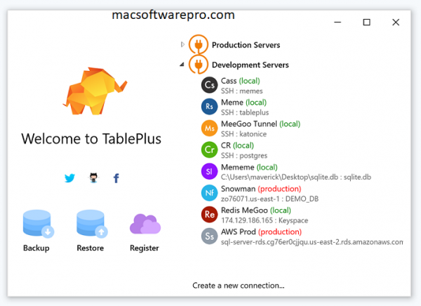 TablePlus 3.12.18 Crack With License Key [Mac] Free Download