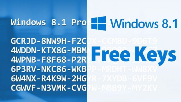 Windows 8.1 Product Key and Activation Key 2021 Mac [Updated]