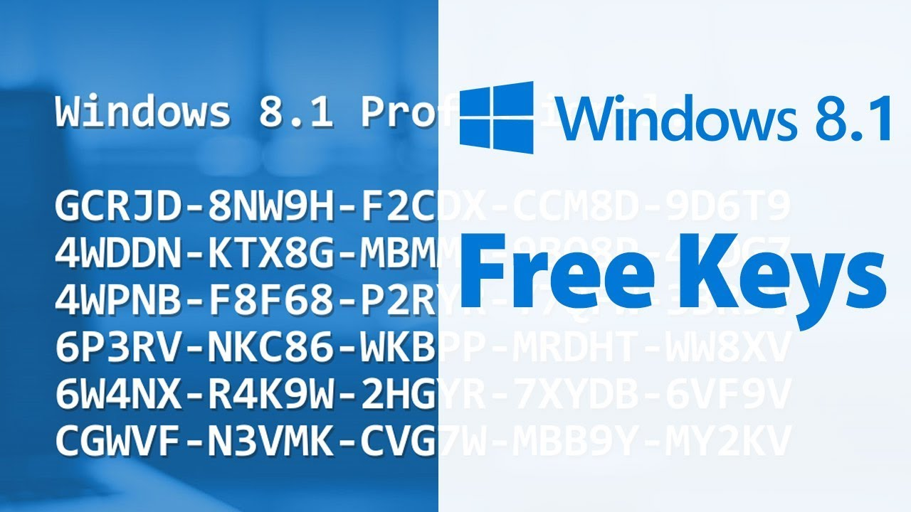 Windows 8.1 Product Key and Activation Methods Mac [Updated]