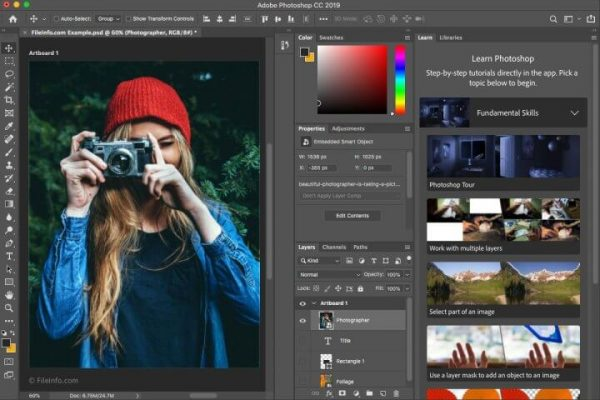 Adobe Photoshop 2020 Crack v21.2.1.265 Mac Pre-Activated
