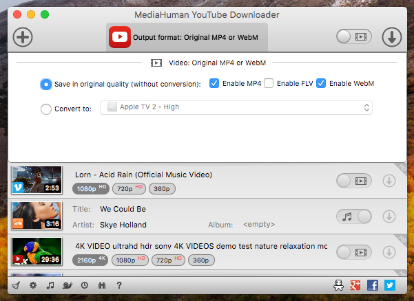 MediaHuman YouTube Downloader 3.9.9.41 (3006) With Crack Mac