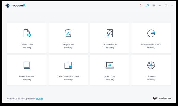 Wondershare Recoverit 9.0.0.20 Crack With Key 2020 [Mac] free