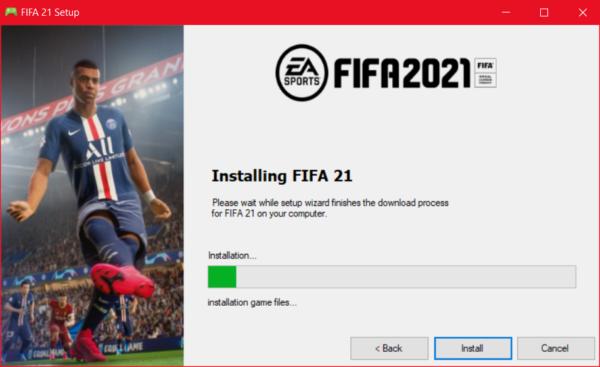 Fifa 21 on Mac OS X Game Free Download