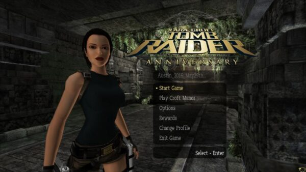 Tomb Raider Anniversary for MacOSX Free Download