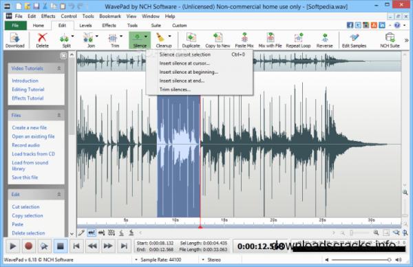 WavePad Sound Editor 12.74 Crack With Serial Key 2021 (Mac)