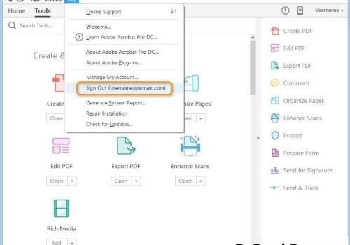 Adobe Acrobat Pro DC 2021.005.20060 With Crack Mac Free Download