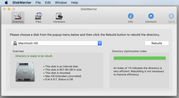 DiskWarrior [5.2] For Mac (Latest 2021) Free Download